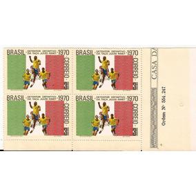 Copa De 1970-quadra Nova Selo 682-pelé No Mexico