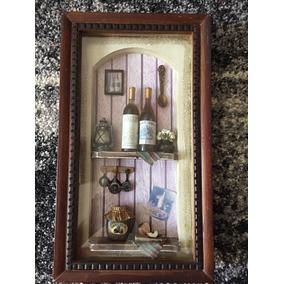 Quadro Parede Cozinha Vinho Decorativo Vintage 2