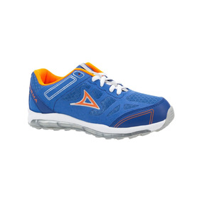 Tenis Deportivo Infantil Pirma Azul Textil Ur675 A