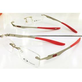 Armação Para Oculos De Grau Evade Oakley 22-173 Prata Ducati 495c16ec99