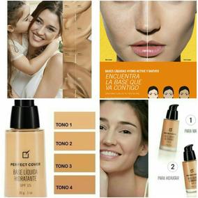 Maquillaje,base Liquida Hidratante O Matificante,100% Yanbal