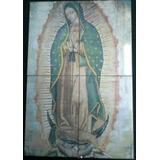 Virgen De Guadalupe En Azulejos 60x40cm C17742