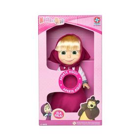 Boneca Masha Da Brinquedos Estrela Original