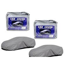 Pack 2 Cobertor Carpa Funda Auto Impermeable Talla L, M Y Xl