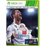 Fifa 18 Para Xbox 360 Nuevo Y Sellado. Físico.