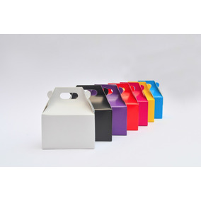 Lonchera Boxlunch Colores Impresa Mesadulces Postres Mediana