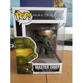 Halo Master Chief Funko Pop 03 Nuevo De Colección + Envio