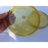 Lente Farol Cibie Vw Fusca Cavalinho Original 73/76 Amarelo