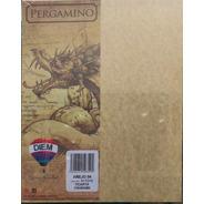 Papel Pergamino Tamaño Carta Añejo 176gr 50 Hojas