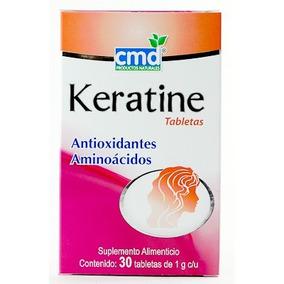 Keratine 30tabletas Antioxidantes Y Amioacidos Keratina