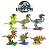 Tipo Lego Minifiguras Jurassic World Dinosaurios Perco