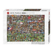 Puzzle 3000pz Football History Alex Bennett - Heye 29205-12