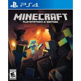 Minecraft Ps4 Nuevo Blakhelmet Sp