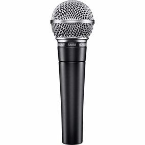 Microfone Shure Sm58 Lc Original + Bolsa + Nf Garantia