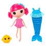 Mga Lalaloopsy Cosa Mermaid Doll Mágico - Coral Sea Shells