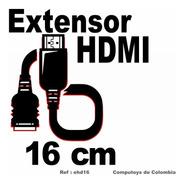 Zehd16 Extensión Hdmi Macho-hembra 16cm Computoys