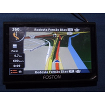 Gps Foston Fs-503dt Tv Dig + Carregador