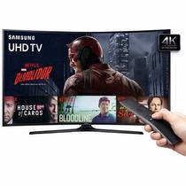 Tv 55 Polegadas Samsung Led Curva 4k Smart Usb Hdmi