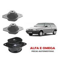 Kit Coxim Motor E Cambio Uno Mille 91 92 93 94 95 96 97 98