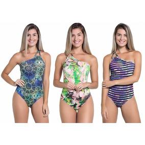 Kit Body Feminino Kaisan Com 3 Peças Estampas Variadas-f2159