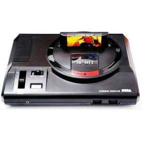 Video Game Mega Drive - 22 Jogos Clássicos Na Memória