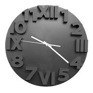Reloj De Pared Rjp 1064 Negro Agujas Metálicas | Giveaway