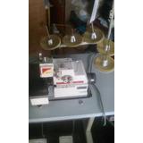 Máquina Overlock Industrial De 5 Hilos Prato &forne