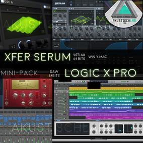 Pack Serum + Logic X Pro Mac Vst Plug Ins Synth Samples