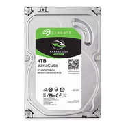 Disco Duro 4tb Seagate 3.5 Pc Sata Interno 256mb St4000dm004