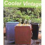 Cooler Vintage Marrom 22 Litros