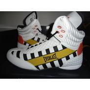 Zapato P/box O Casual Everlast Round 2 Negro Caballero Fpx