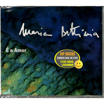 Maria Bethânia Cd Single Promo É O Amor - Raro
