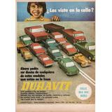 Clippings De Publicidades Autos Y Juguetes Duravit Original
