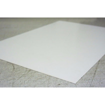 Chapa Placa P.s Poliestireno Similar Pvc Branca 1mm 2mx1m