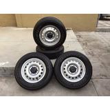 Llanta 225/70 R17 Dunlop Grandtrek At20 Y Rines 17 Hilux 16