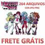 Rte Vetores Imagens Monster High Corel 264 Em Cdr Jpg Pn