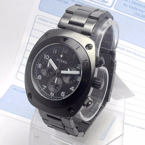 f0688f60d21 Fch2777 Relogio Fossil Black Ion-plated Stainless Steel Novo