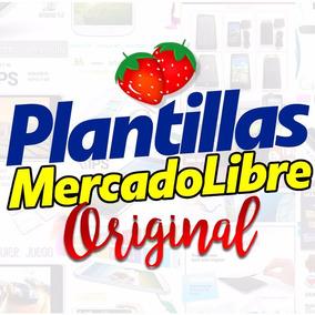 Plantillas Mercado Libre 100% Original! Anuncio Mercadolibre