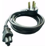 Cable Power Interlock Trébol 1.2 Mts Para Fuente Notebook Pc