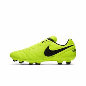 Chuteira Nike Tiempo Genio Ii Leather Fg Campo Original