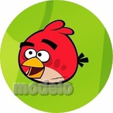 Kit Fest Infantil Personalizados 195 Adesivos Angry Birds