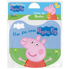 Livro De Banho - Minha Primeira Peppa Pig - Toyster