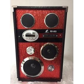Caixa Som X Cell Bd-003 Radio Fim / Mp3 / Sd / Usb