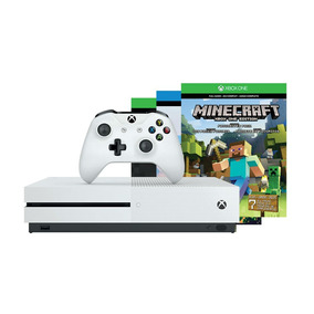 Consola Xbox One S Microsoft 500gb + Minecraft