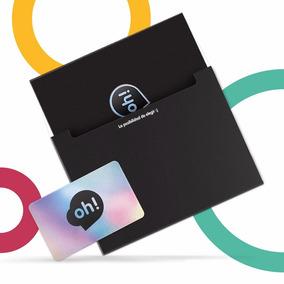Tarjeta Oh! Gift Card $500. Holder Y Sobre Premium.