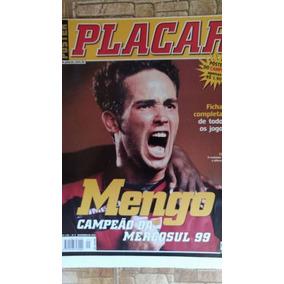Revista Poster Placar Flamengo Campeão Copa Mercosul 1999