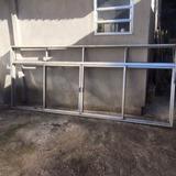 3 Janelões / Janela De Alumínio Com Báscula (3,40 X 1,40)