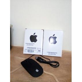 Mouse Usb Apple Para Laptop Y Pc Color Negro