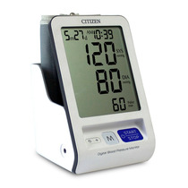 Medidor De Presión Arterial, Citizen, Ch-456 Brazo./termómet