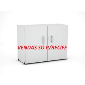Armário Baixo Madeira Pandin Cinza (novo) Venda Só P/recife